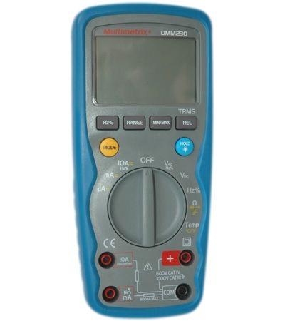 Multimetru Multimetrix DMM 230 - Multimetru digital 10A/1000V, IP67 600 V CAT IV / 1000 V CAT III