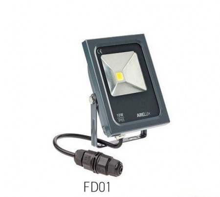 Proiector LED Arelux FD01CW - Proiector LED X FOLD 10W 120gr.6000K (5f)
