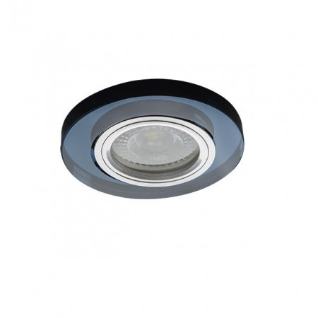 Spot Kanlux 26711 MORTA - Spot incastrat, fix GU10, 1x35W, IP20, negru