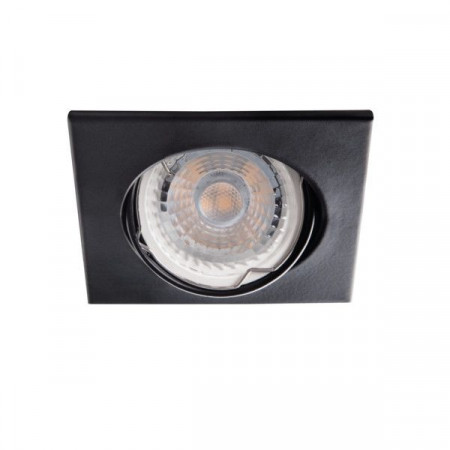 Spot Kanlux 26732 ALOR-DTL - Inel spot directional incastrat LED GU10, max 35W, IP 20, negru