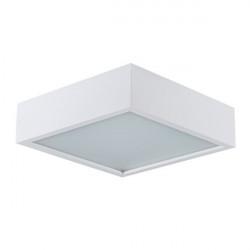 Aplica Kanlux 25675 MERSA - Plafoniera led E27, max 2x60W, IP20, 30cmx30cm, alb
