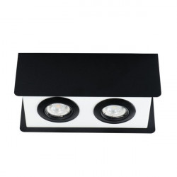 Aplica Kanlux 28463 Torim - Plafoniera TORIM DLP-250 B, GU10, 2x35W, negru/alb