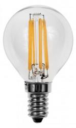 Bec cu led Opple 140051152 - Sursa filament LED E P45 FILA E14 4W 2700K CL BL