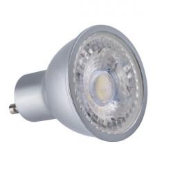 Bec Kanlux 24663 PRODIM - Bec spot dimabil, GU10, 7,5W, 3000K, A+, 60 grade, argintiu