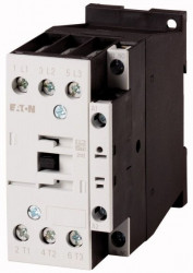 Contactor Eaton 277123 - Contactor putere DILM25-10(24V60HZ)-Contactor 11KW, regim AC-3