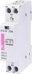 Contactor modular Eti 2461231 - R20 02 24V
