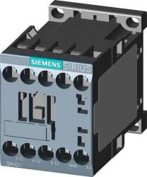 Contactor Siemens 3RT2017-2BB41-0CC0 - SCHUETZ, AC-3, 5,5KW/400V, 1S, DC 24V, KOM.FAEHIG 3POL, BGR. S00