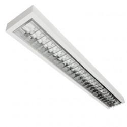 Corp de iluminat Kanlux 8601 XEDOS - Corp aplicat, T5, G5, 4LED, 2x54W, 1195x180, IP20, alb