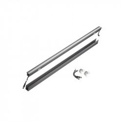 Corp iluminat Arelux XMarker ME02NW120 - Corp liniar cu led 24W 4000K 120grd IP67 DG (5f), aluminiu