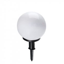 Corp iluminat Kanlux 23510 IDAVA 25 - Aplica gradina E27, max 25W, IP44, alb/negru