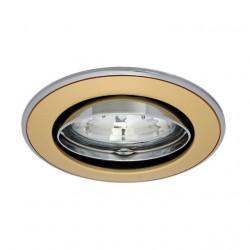 Corp iluminat Kanlux 2754 CEL PARLE CTC-5519 - Spot incastrat directional, Gx4, max 35W, 12V, IP20, auriu perlat/nichel