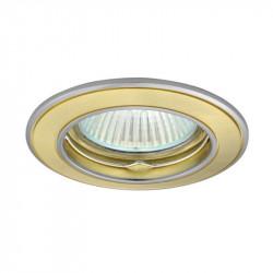 Corp iluminat Kanlux 2815 BASK CTC-5514 - Spot incastrat, Gx5,3, max 50W, 12V, IP20, auriu/nichel