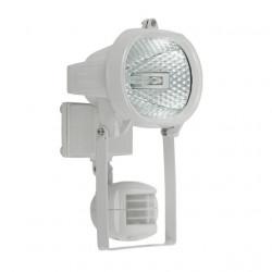 Corp iluminat Kanlux 667 MEZO CE-81P-Y-W - Proiector halogen cu senzor miscare, R7s, 150W, IP44, alb
