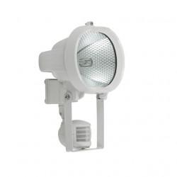 Corp iluminat Kanlux 677 OTIS CE-82P-Y-W - Proiector halogen cu senzor miscare, R7s, 500W, IP44, alb