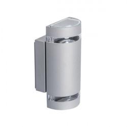 Corp iluminat Kanlux ZEW 22443- Corp iluminat fatada 2x max 35W, GU10, PAR16, IP44, argintiu