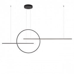 Corp iluminat Redo 01-1850 Giotto - Lustra led, 66W, 4000k, 5286lm, negru