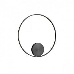 Corp iluminat Redo 01-1960 Orbit - Aplica/plafoniera led, 55W, 4000k, 4309lm, negru