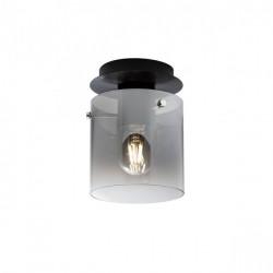 Corp iluminat Redo 01-2005 Lou - Plafoniera, max 1x42W, E27, IP20, sticlă fumuriu degrade