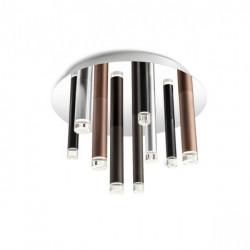 Corp iluminat Redo 01-2042 Madison - Plafoniera led, 36W, 3000k, 2448lm, argintiu, bronz, negru