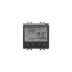 Cronotermostat Gewiss GW12703 Chorus - Cronotermostat 2M 230VAC, Negru