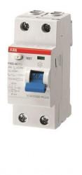 Intrerupator automat ABB 2CSF202101R1250 - Siguranta bifazata cu diferential 25A curba B F202 A-25/0,03