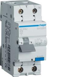 Intrerupator automat Hager AD816J - DISJ.DIF. P+N 16A/30MA, B, 4,5KA