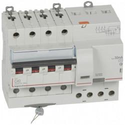 Intrerupator automat Legrand 411186 - SOHO DX3 4P C16 6000A AC 30MA 4M