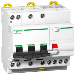Intrerupator automat Schneider A9D41720 - Intr dif DPNNVigi 3PNN 20A C 6000A 300MA AC