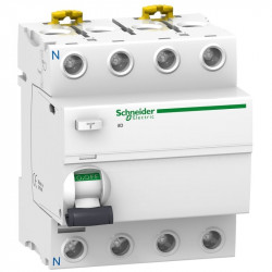 Intrerupator automat Schneider A9R37480 - IID 4P 80A 500MA-S A-SI