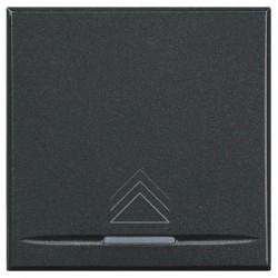 Intrerupator Bticino HS4582 Living Light - Variator, comanda tactila, rezistiv/inductiv 50W-1000W, 2M, 250V, negru