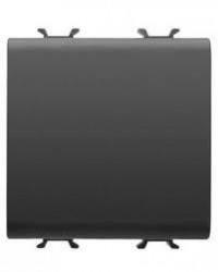 Intrerupator Gewiss GW12101F Chorus - Intrerupator cap cruce 2M 1P 16AX NEGRU