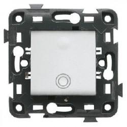 Intrerupator Gewiss GW34021 Pulsante - Intrerupator cu revenire 10A 1P alb