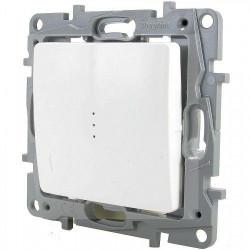Intrerupator Legrand 664510 Niloe - Intrerupator cap-scara cu lumina de control, 10AX, alb