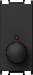 Intrerupator Tem EM11SB-B Modul - Variator rot cap sc 300W negru