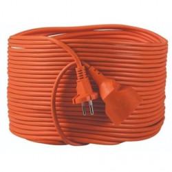 Prelungitor Kanlux 26208 NOKA - Prelungitor 16A, 1P, IP20, 3G1.5X30M, portocaliu