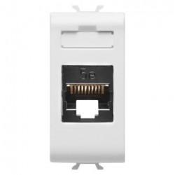 Priza Date Gewiss GW10421 Chorus - Conector RJ45, 1M, CAT.5E, UTP, alb
