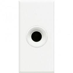 Priza Semnal Bticino HD4391 Living Light - Conector audio jack 3.5, 1M, alb