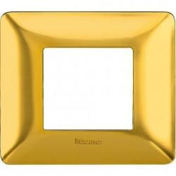 Rama Bticino AM4802GOS Matix - Rama 2 module auriu satinat