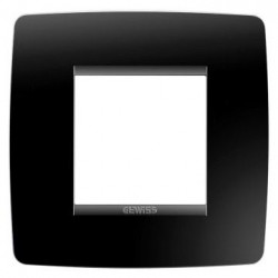 Rama Gewiss GW16122TN Chorus - Rama One International, 1P, 2M, oriz, termoplastic, negru toner
