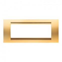 Rama Gewiss GW32066 Playbus - Rama Playbus 6M, oriz, tehnopolimer metalziat, auriu