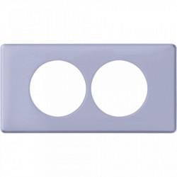 Rama Legrand 68888 Celiane - Rama 2 posturi, polimer, interax 57mm, lavanda
