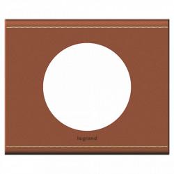 Rama Legrand 69281 Celiane - Rama din piele, 1 post, piele caramel