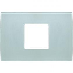 Rama Tem OP23GG-U Modul - Rama din sticla decorativa Pure 2/3m verde gheata