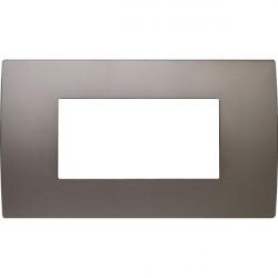 Rama Tem OP40MS-U Modul - Rama metalica decorativa Pure 4m nichel satinat
