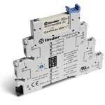 Releu Finder 382100120060 - Releu comutatie 12V, AC/DC, 1C, 6A