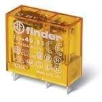 Releu Finder 403160240000 - Releu comutatie 24V, AC/DC, 1C, 10A