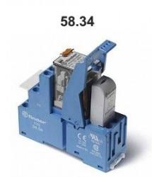 Releu Finder 583480240060SMA - Releu comutatie 24V, AC/DC, 4C, 7A