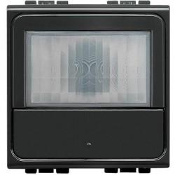 Senzor miscare Bticino L4659N Living Light - Senzor de miscare cu infrarosu, 2M, negru