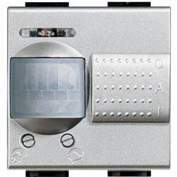 Senzor miscare Bticino NT4432/127 Living Light - Senzor de miscare, 2A, 2M, argintiu