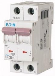 Siguranta automata Eaton 263362 - DISJUNCTOR PL7-C32/2, 2P, 32A, 10kA, C